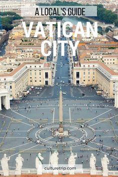 Vatican City is in the heart of Rome and is the smallest country in the world. It is the headquarters of the Roma Catholic Church and the home to the Pope. Places Around The World, Oh The Places You'll Go, Places To Travel, Around The Worlds, Travel Destinations, Italy Honeymoon, Italy Vacation, Italy Trip, Italy Travel Tips