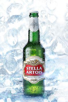 Beer Bottle - CGI & Retouching on Behance