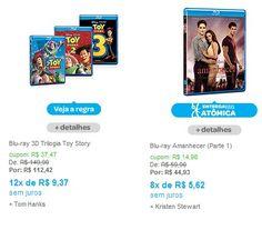 Aproveite este cupom para comprar no site com 25% de desconto em Blu-ray e Blu-ray 3D ou com 20% de desconto em Séries de TV em DVD.