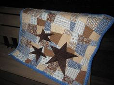 monster wants a hug... and stars... aka a couple more baby quilts - QUILTING