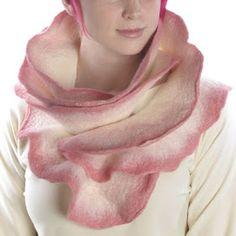 Beautiful rose scarf