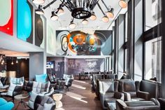 Motel One Basel Basel Motel One Basel is located in Basel, 100 metres from the Architectural Museum. Guests can enjoy the on-site bar and benefit from free WiFi access.  Each room at this hotel is air conditioned and is fitted with a flat-screen TV.