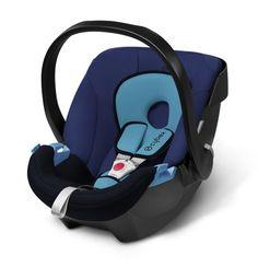 Cybex Aton - Silla de coche, grupo 0+, color azul marino