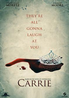"A Quick Review of ""Carrie"" - http://musicmoviesthoughts.com/2013/10/19/a-quick-review-of-carrie/"