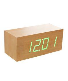 Large Beech Wood Clock - Modern Clockwork Collection