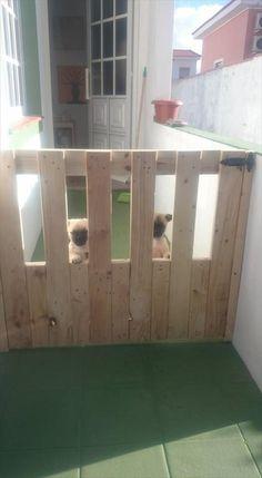 DIY Pallet Gate Doors | 101 Pallet Ideas