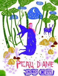 """Peau d'Âne"" - Ill.Nhung Nguyen"
