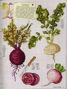 (1) Gallery.ru / Фото #87 - EnciclopEdia Italiana Frutas e verduras - natalytretyak
