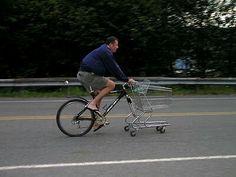 Bike para as compras!  #bike #compras #mercado
