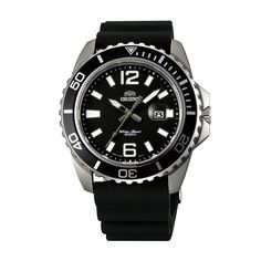Buy #Orient Sporty #Quartz Men Black Dial Black Rubber Strap Round Shape #Watch @ orientwatch.in for Rs.8,617.50/-