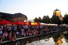 Das Stuttgarter Sommerfest hat begonnen - zum Auftakt gab es nicht nur einen Geburtstagskuchen ... Foto: www.7aktuell.de  