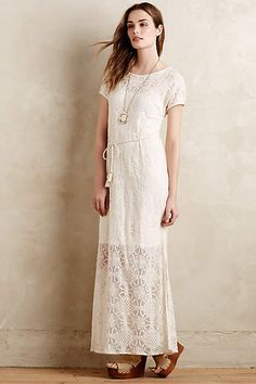 Isabela Lace Dress - anthropologie.eu