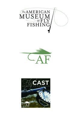 american museum of fly fishing logo - caroline morris