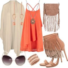 Peach #fashion #mode #look #outfit #style #stylaholic #sexy #dress