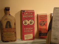 for the cough Vintage Ads, Vintage Signs, Cough Syrup, Vintage Packaging, Vodka Bottle, Herbalism, Medicine, Coffee, Food