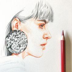 """좋아요 769개, 댓글 4개 - Instagram의 SONIA 邵邵(@sonia_shao)님: """"✏️#sketch #soniashao #fashionillustrations #illustration #fashionart #artwork #artevm…"""""""