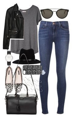 Outfit for shopping by ferned featuring a duffle bag striped t shirt, 225 AUD / Zara biker jacket, 135 AUD / Topshop skinny jeans, 120 AUD / Adidas originals shoes / Givenchy duffle bag, 2 245 AUD. Uni Outfits, Mode Outfits, Casual Outfits, Fashion Outfits, Womens Fashion, Fashion Trends, Night Outfits, Fashion Fashion, Fall Winter Outfits