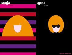 Sonia Rykiel vs. Anna Wintour