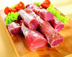 Tuna, Fish, Meat, Red Peppers, Pisces, Atlantic Bluefin Tuna