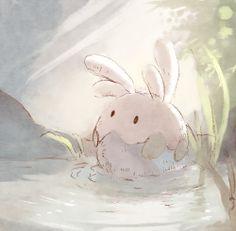 cutest bunny illustrations ever (photo set)