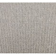 Manx Natural Shades Plain Clay 50% Wool 50% Polypropylene Grey Loop Carpet - Manx from All Floors UK