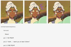 VLD crack - No fear/One fear meme Allura's reaction to Keith's Promotion to Black Paladin