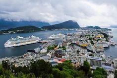 Gallery - Tips about Trips Alesund, Europe Destinations, Norway, Hiking, Gallery, Water, Outdoor, Walks, Gripe Water