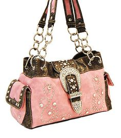 Pink Western Purse Purses Cute Trendy Tooled Leather