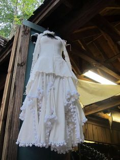 White Fairy Gown from Moresca at the Maryland Renaissance Festival