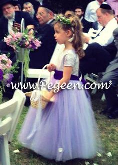 96f0cf2dc Deep Plum and lavender ballerina style Flower Girl Dresses with layers and  layers of tulle Purple