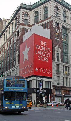 Macy's. New York, New York.