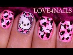 First Nail Art Design Of The Year! ♥ Hello Kitty ♥ Tutorial