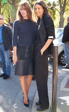 The voguettes Claire Dhelens & Geraldine Saglio Fashion Week