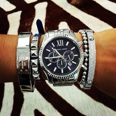 Ahhhh silver!   Get daily deals on the latest wrist fashion. Get 10% Off Your First Order. Visit >>> CheckMyWrist.com