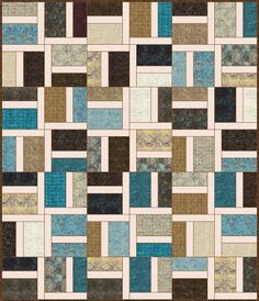 Lets Quilt Something: River Rock - Free Quilt Pattern - Layer Cake