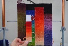 Contemporary tapestry artist, Rebecca Mezoff, waxes on about weaving, yarn, and life in the Southwestern United States...