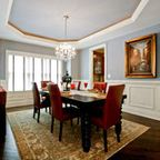 Mount saint anne cc 710 benjamin moore entry pinterest for Period dining room ideas
