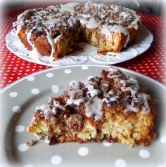 Cinnamon Crumble Breakfast Cakefrom The English Kitchen
