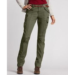 Eddie Bauer Cargo pants - I have two pairs and they are so comfortable!