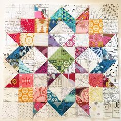 Inspired by pillow. Finished the pillow top a few weeks ago. Hoping to have time to finish this soon! Inspired by pillow. Finished the pillow top a few weeks ago. Hoping to have time to finish this soon! Mini Quilts, Star Quilts, Scrappy Quilts, Easy Quilts, Patchwork Quilting, Cute Quilts, Half Square Triangle Quilts, Square Quilt, Quilt Block Patterns