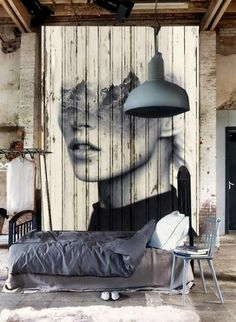 10 Easy Industrial Style Decor Designs That You Can Create For Your Urban Living Space Industrial Wall Decor Design No. Home Interior, Interior Styling, Interior Architecture, Interior And Exterior, Concept Architecture, Loft Interior Design, Interior Sketch, Interior Livingroom, Apartment Interior