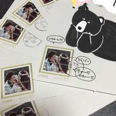 招待状・返信用ハガキに使いたい♡オリジナル切手のデザイン集* | marry[マリー]