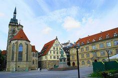 Stuttgart, Baden-Wurttemberg, Germany--Where my Kopp family is from:)