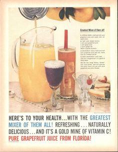 Florida Citrus Commission Grapefruit Juice Page LIFE December 5 1960