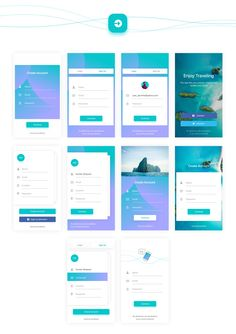 Arco – Wireframe Mobile UI Kit - Sketch Templates