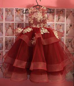 Blush Lace Tulle Flower Girl Dress Birthday by KingdomBoutiqueUA