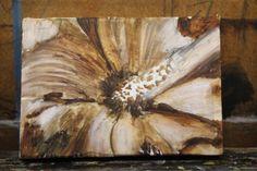 A ferrugem ou marrom sob a pintura entrou rapidamente também. Aqui no entanto, eu desenvolvi os claros e escuros e estabeleceu o tom geral da pintura.