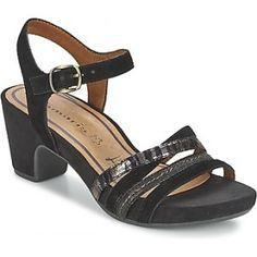 Gezien op beslist.nl: Tamaris -ALIZ - sandalen -dames-zwart