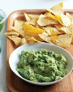 Speedy Guacamole  This quick and easy dip is the perfect go-to appetizer.