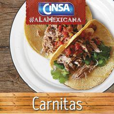 #Cinsa #CinsaALaMexicana #Recetas #Mexicanas #RecetasMexicanas #México #Comida #ComidaMexicana #peltre #MarcasMexicanas #Carnitas #Michoacán